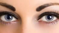Beautiful big blue eyes